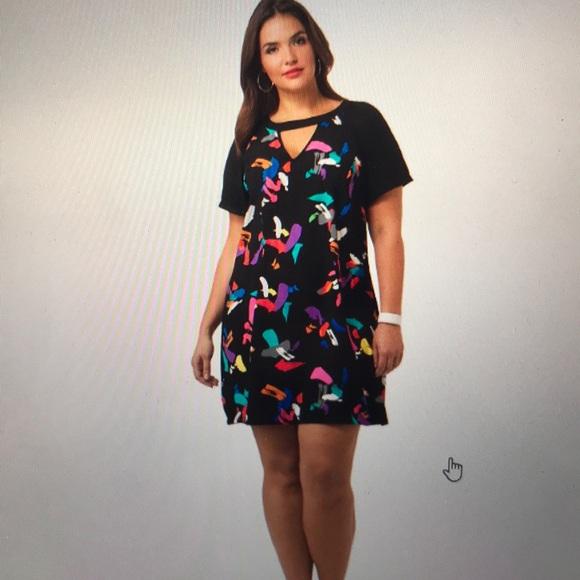 b7ee43aa1 City Chic Dresses & Skirts - City Chic Short Sleeved Graffiti Dress